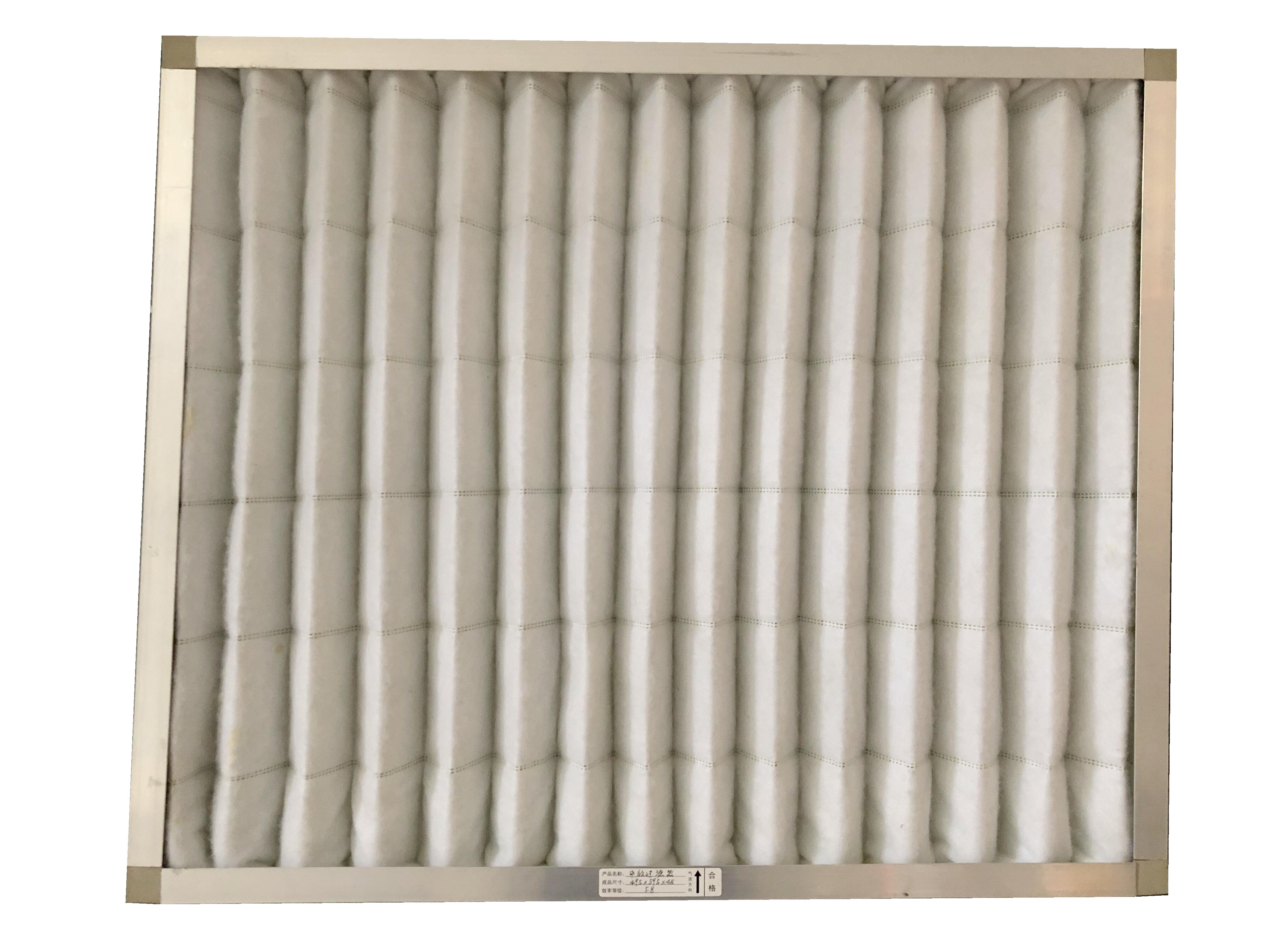 空气过滤器板式中效过滤器